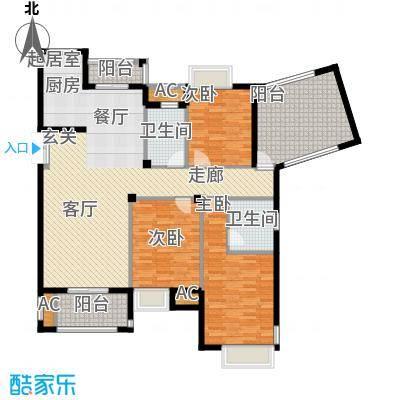 皇马公寓136.00㎡G7户型