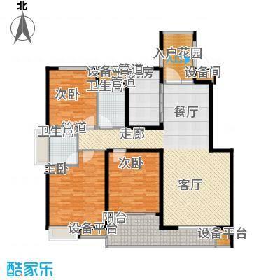 国际中港城142.00㎡紫轩公寓C户型