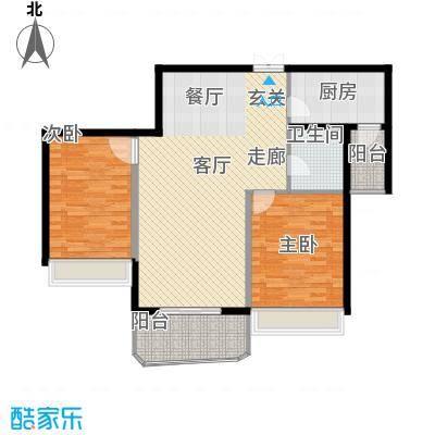 国际中港城116.14㎡5-6栋4-12F/B、E室户型