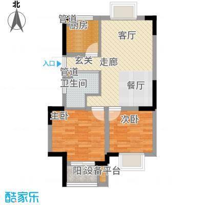 嘉业阳光城高阳台7#楼-2户型