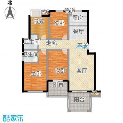 赞成丽景苑136.00㎡赞成・丽景苑F2面积13600m户型