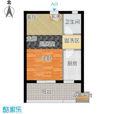 云澜湾46.00㎡A户型