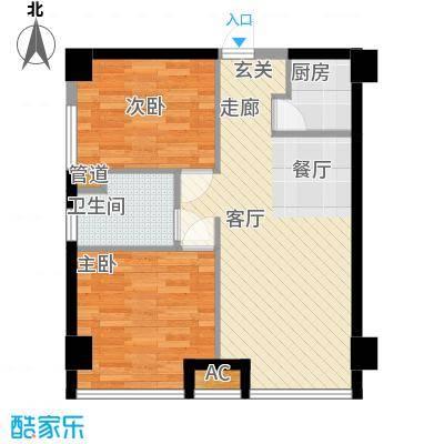 中宇锦江华园2户型
