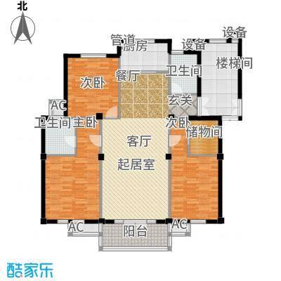 东台公寓139.00㎡J面积13900m户型