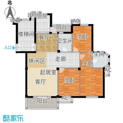 东台公寓139.00㎡H面积13900m户型