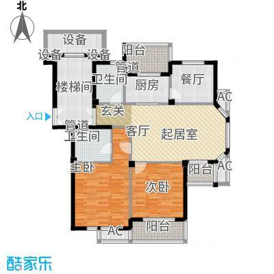 东台公寓109.00㎡C面积10900m户型