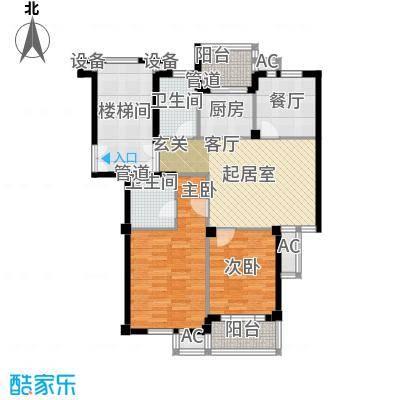 东台公寓91.00㎡A面积9100m户型