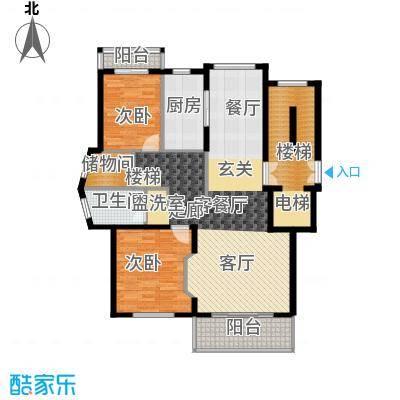 宁兴杭湾名苑192.00㎡复式C面积19200m户型