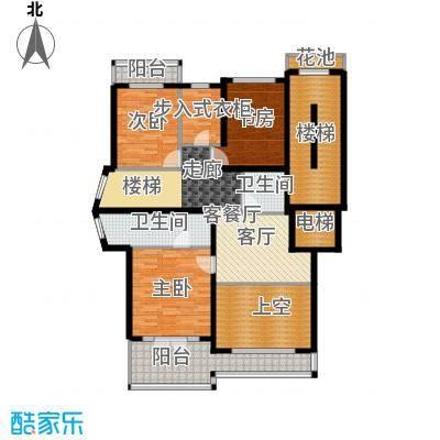 宁兴杭湾名苑253.00㎡复式C面积25300m户型
