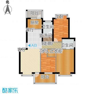 中星新塘家园115.50㎡D43面积11550m户型