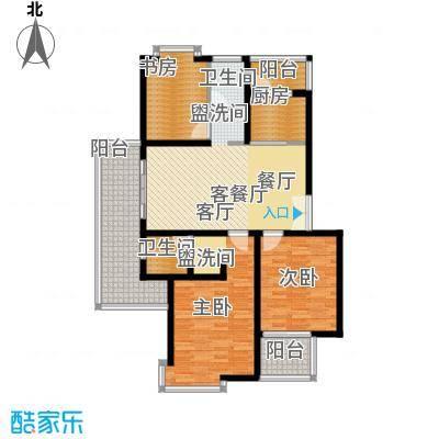 中星新塘家园114.90㎡D33面积11490m户型
