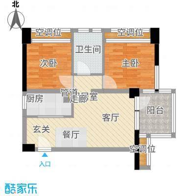 孔浦新村58.00㎡面积5800m户型