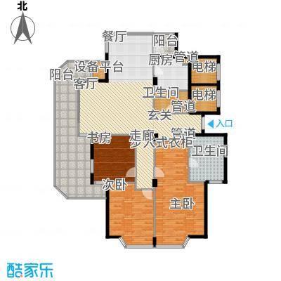 绿城慈园183.00㎡5#、7#西首、2#面积18300m户型