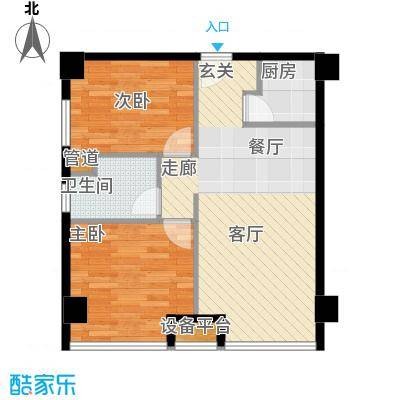 宁波外代大厦2户型