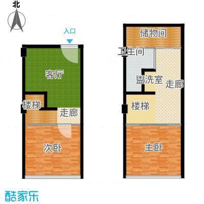 学府1+129.00㎡多层SOHO复式公寓面积2900m户型