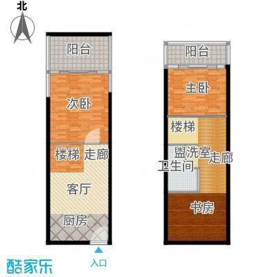 学府1+136.00㎡多层SOHO复式公寓面积3600m户型