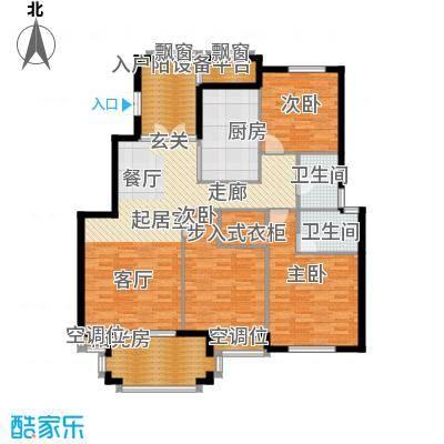 金府华庭137.00㎡10#、11#高层标面积13700m户型