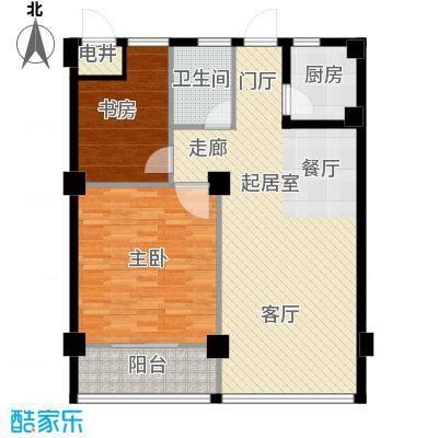 梅龙枫香庭院86.00㎡标准层C面积8600m户型