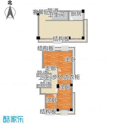 梅龙枫香庭院155.00㎡复式A5面积15500m户型