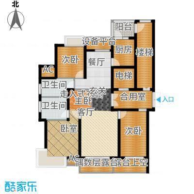米兰公寓144.00㎡C6户型