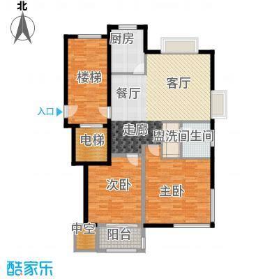 新隆蓝天公寓93.40㎡1面积9340m户型