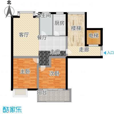 新隆蓝天公寓97.80㎡1面积9780m户型