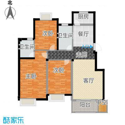 新隆蓝天公寓136.00㎡1面积13600m户型