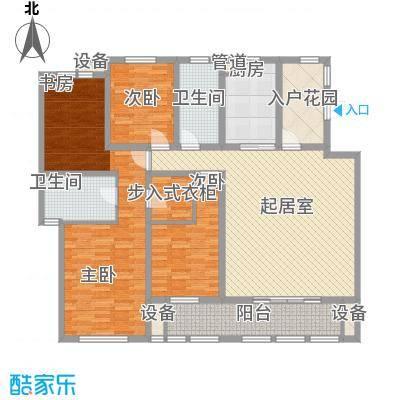 华润中央公园181.00㎡二期高层标面积18100m户型