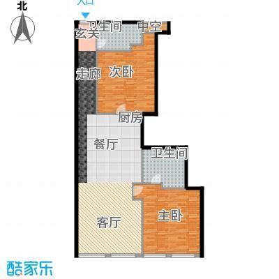 龙禧中心128.96㎡D户型