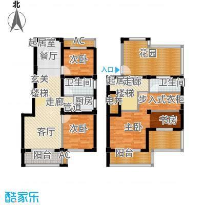 红墅湾137.38㎡小高层9层+阁楼户面积13738m户型