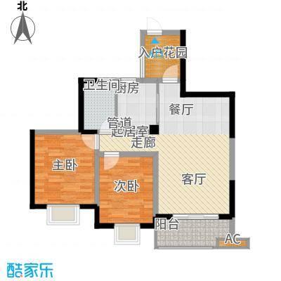 滨江果园避寒度假山庄84.11㎡福江苑-11户型