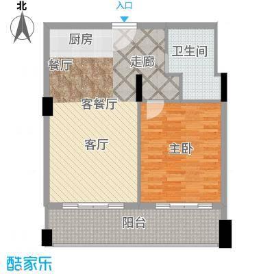 梦云南雨林澜山70.87㎡梦云南・雨林澜山公寓B户型