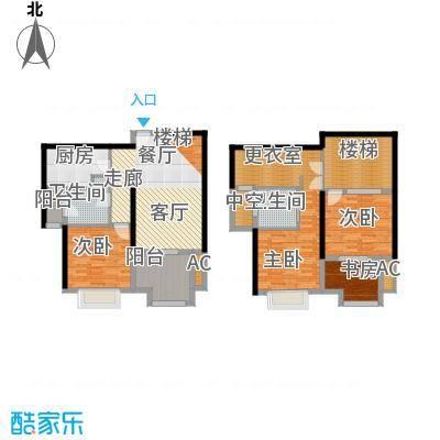 永利中央公馆140.98㎡2号楼F户型