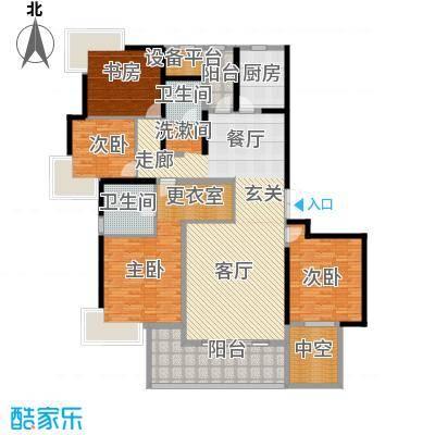 永利中央公馆196.03㎡4号楼H1户型