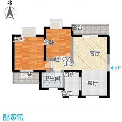 滨江果园避寒度假山庄84.62㎡福江苑-16户型