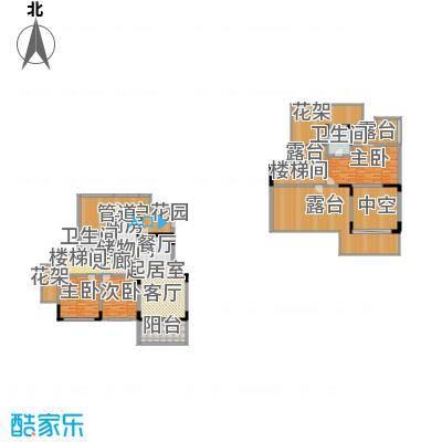 林语半山187.00㎡c5户型