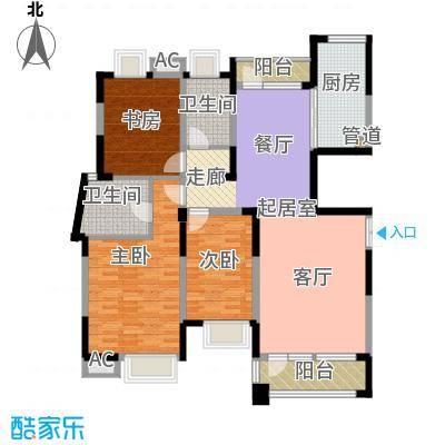 润泽大院143.00㎡中庆二期-D2户型