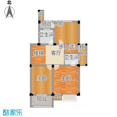 红叶枫情水岸82.00㎡8#楼储藏室户型