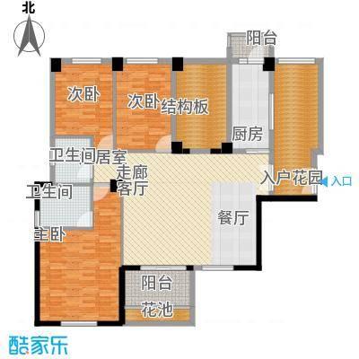 中正花园3-5栋平面层户型