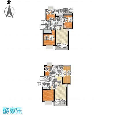 一米阳光美好家园一米阳光・美好家园美好家园C2阳台户型