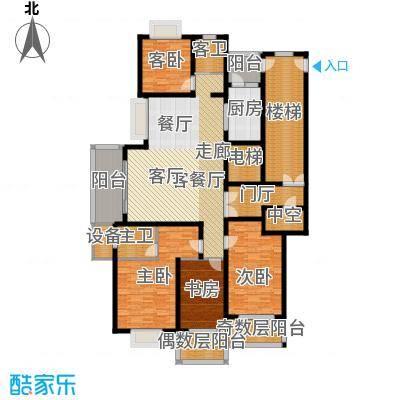 宝业大坂风情167.00㎡13号楼B2户型