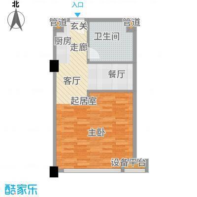 瓜渚5号48.00㎡a2户型