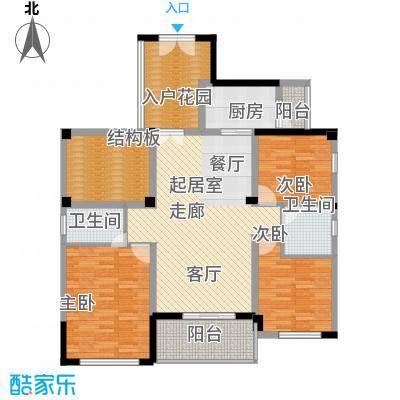 中正花园3-5栋平面层2户型