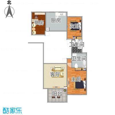 万国公馆138平米三室两厅两卫