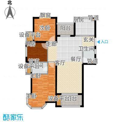 润达锦秀河山124.00㎡G户型