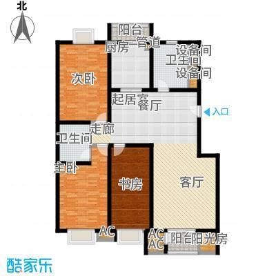 京源柳郡155.96㎡型2面积15596m户型