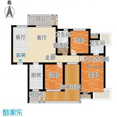 鸿城铂兰湾138.00㎡鸿城・铂兰湾g户型