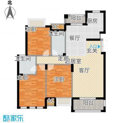 皇马公寓140.00㎡E5#7#10#14#户型