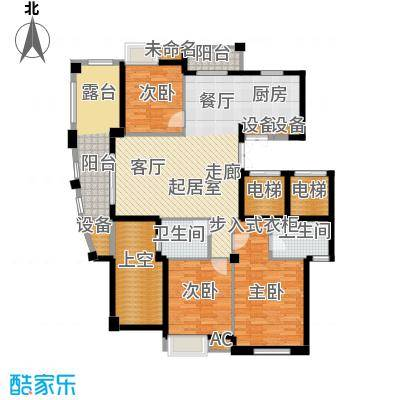 皇马公寓128.00㎡N2户型