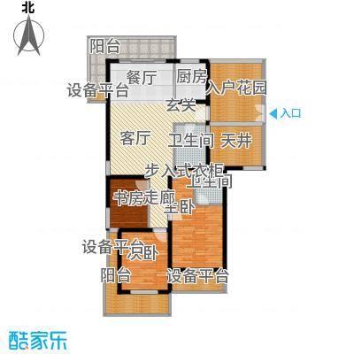 国际中港城143.00㎡紫轩公寓D户型